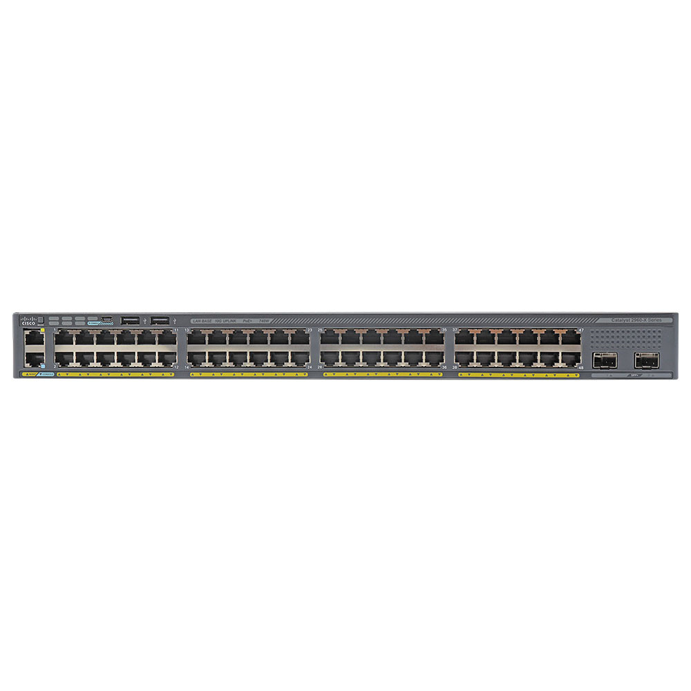 Cisco Catalyst 2960X 48 Port PoE Switch WS-C2960X-48FPD-L