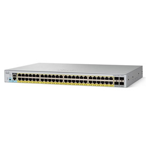 Cisco 2960-L Series 48 Ports Gigabit PoE Switch WS-C2960L-48PS-LL