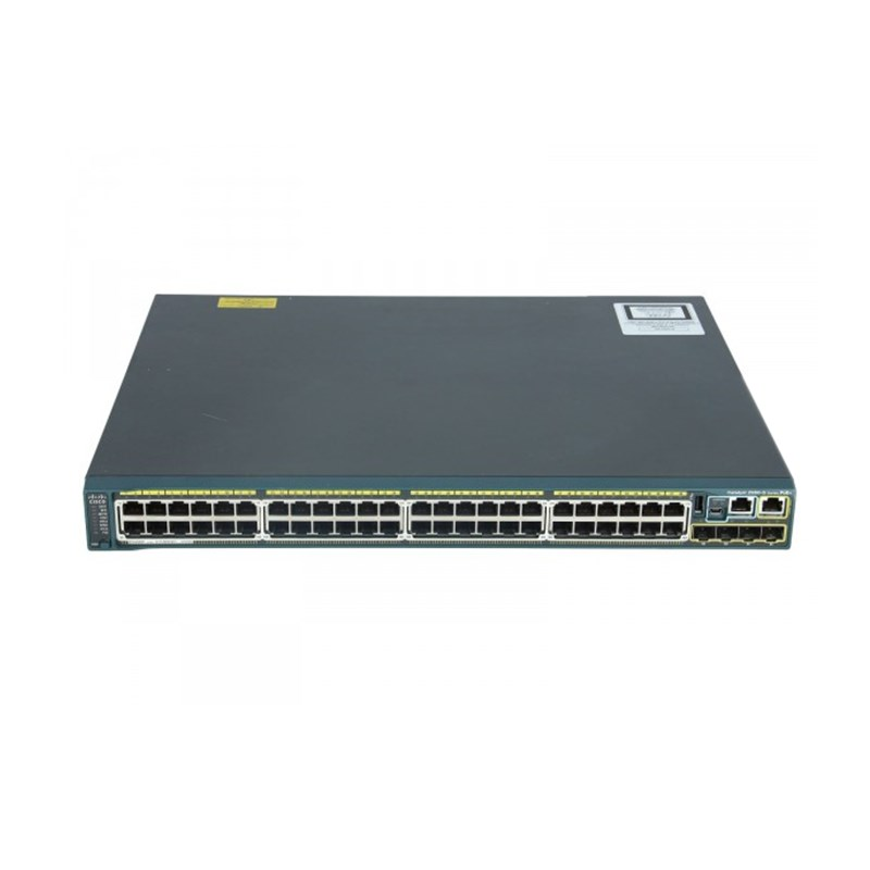 Cisco Catalyst 2960S 48 Port SFP Switch WS-C2960S-48FPS-L
