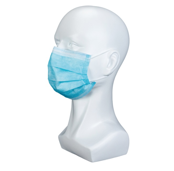 Disposable masks 3 layers non-woven antivirus and dustproof