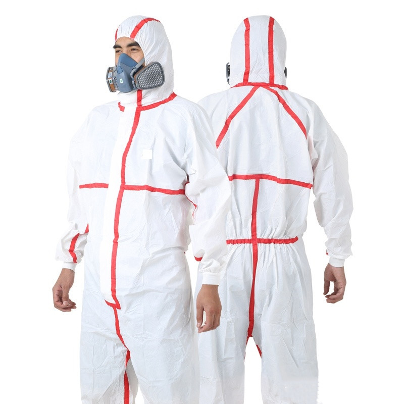 Disposable Protective Coverall Anti-virus Medical Isolation Clothing
