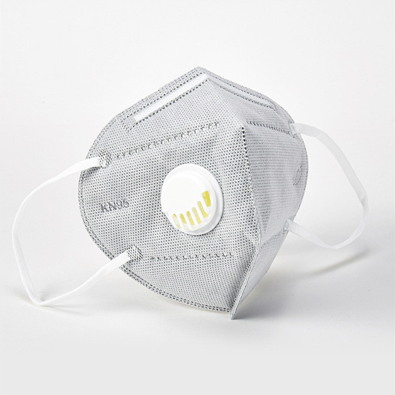 KN95 Breathing Valve Mask Self-priming Filter Type Anti-particle Respirator