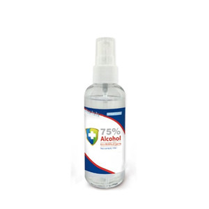 Hot Sell 100ml 75% Alcohol Spray Disinfectant Sterilization Rate 99.99%